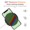 10W Fast Wireless Charger Qi Charging Pad For Mobile Smart Phones - 5