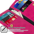 Hot Pink Genuine Mercury Mansoor Diary Wallet Case For  iPhone 11 - 4