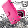 Hot Pink Genuine Mercury Mansoor Diary Wallet Case For  iPhone 11 - 6