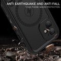 Black iPhone 12 Pro Waterproof MagSafe Dirtproof Shock Proof Case - 2