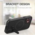 Black iPhone 12 Pro Waterproof MagSafe Dirtproof Shock Proof Case - 3