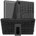 "Black Heavy Duty Stand Case For Samsung Galaxy Tab A 10.4"" T505 T500 - 1"