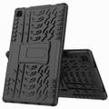 "Black Heavy Duty Stand Case For Samsung Galaxy Tab A 10.4"" T505 T500 - 2"