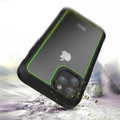 Green iPhone 11 Pro Max Military Shock Proof Case w/ Clear Acrylic Back - 3
