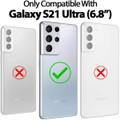 Gold Galaxy S21 Ultra Mercury Mansoor 9 Card Slots Wallet Case - 7