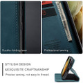 Blue Galaxy S21 Ultra 5G CaseMe Samsung Classic Folio Wallet Case - 5