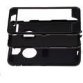 Black iPhone 6 / 6S Tradies Heavy Duty Defender Holster Belt Clip Case - 3
