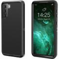 Black Galaxy S21+ Plus Heavy Duty Belt-Clip Holster Shock Proof Case - 2