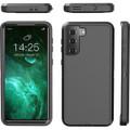 Black Galaxy S21+ Plus Heavy Duty Belt-Clip Holster Shock Proof Case - 3