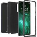 Black Galaxy S21+ Plus Heavy Duty Belt-Clip Holster Shock Proof Case - 4