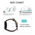 Brown Apple Watch 42mm/44mm Vintage Retro Genuine Leather Band For Series 1/2/3/4/5/6/SE - 4
