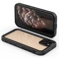 Black iPhone 12 Pro Max Waterproof Dirtproof Shock Proof Case - 2