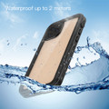 Black iPhone 12 Pro Max Waterproof Dirtproof Shock Proof Case - 4