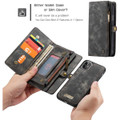 Blue iPhone 11  Multi-functional 2 in 1 Wallet / Purse Magnetic Case - 2