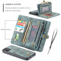 Blue iPhone 11  Multi-functional 2 in 1 Wallet / Purse Magnetic Case - 3