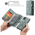Blue iPhone 11  Multi-functional 2 in 1 Wallet / Purse Magnetic Case - 5