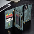 Blue iPhone 11  Multi-functional 2 in 1 Wallet / Purse Magnetic Case - 7