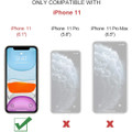 Blue iPhone 11  Multi-functional 2 in 1 Wallet / Purse Magnetic Case - 9