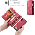 Red iPhone XR Stylish Multi-functional 2 in 1 Purse Wallet Magnetic Case - 4