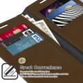 Vintage Brown Samsung Galaxy A52 Mercury Mansoor Wallet Case - 6
