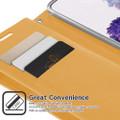 Shiny Gold Samsung Galaxy A52 Mercury Mansoor Wallet Case Cover - 2