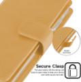 Shiny Gold Samsung Galaxy A72 Mercury Mansoor Wallet Case Cover - 4