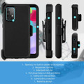 Military Shock Proof Defender Holster Case For Galaxy A52 (4G/ 5G) - 2
