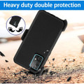 Military Shock Proof Defender Holster Case For Galaxy A52 (4G/ 5G) - 8