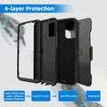 Military Shock Proof Defender Holster Case For Galaxy A52 (4G/ 5G) - 9