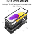 Samsung Galaxy A72 (4G/ 5G) Shock Proof Military Tough Holster Case - 3