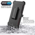 Samsung Galaxy A72 (4G/ 5G) Shock Proof Military Tough Holster Case - 5