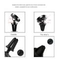 CaseMe Premium Magnetic Car Holder Air Vent Mount 360 Degree Rotation - 3