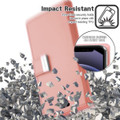 Rose Gold iPhone 13 Pro Max Rich Diary 6 Card Slot Wallet Case  - 5