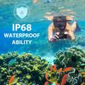 Black iPhone 13 ProWaterproof Underwater Shock Proof Case - 7