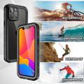 Black iPhone 13 ProWaterproof Underwater Shock Proof Case - 11