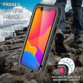 Black Waterproof Dirtproof Shock Proof Case For iPhone 13 Pro Max  - 5