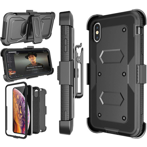 "Apple iPhone 6 / 6S 4.7"" Military Style Defender Case with Optional Holster"