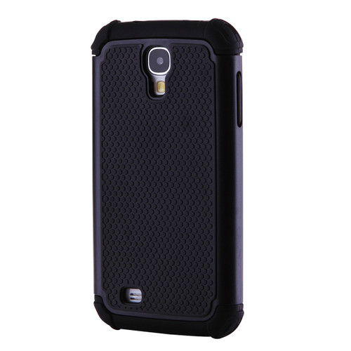 Samsung Galaxy S4 Heavy Duty Defender Case - Black