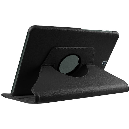 Black Premium Samsung Galaxy Tab S2 9.7 360 Degree Rotating Case - 2