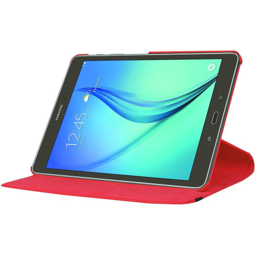 Red 360 Degree Rotating Case Cover For Samsung Galaxy Tab S2 9.7 - 1