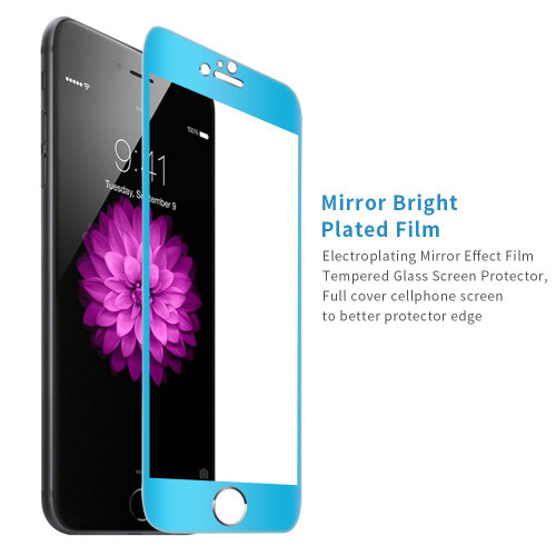 "Blue Apple iPhone 6 / 6S 4.7"" Full Cover Tempered Glass Screen Protector - 1"