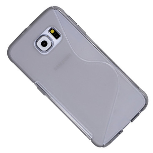 Clear Samsung Galaxy S6 Edge S-Line Soft TPU Gel Case