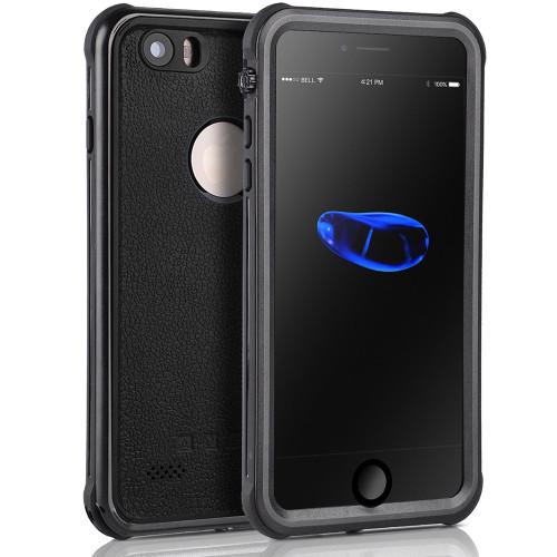 Apple iPhone 6 / 6S Waterproof Dirtproof Shock Proof Case - Black - 1