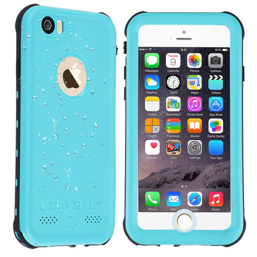 Apple iPhone 6 / 6S Waterproof Dirtproof Defender Case - Blue - 1