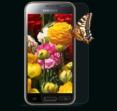 Samsung Galaxy S5 Mini Tempered Glass Anti-Scratch Screen Protector - 1
