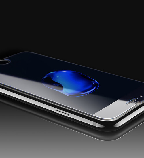 iPhone 7 Tempered Glass Screen Protector 2.5d curve 9H rating - 1