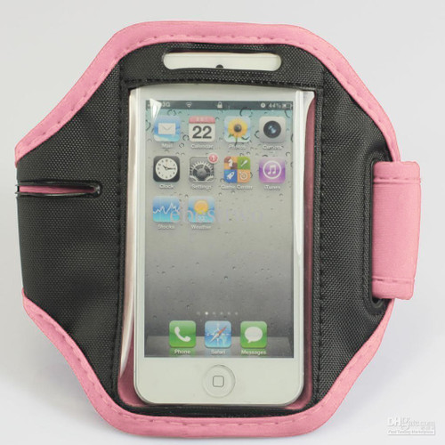iPhone 4 / 4S Sports Armband Case / Cover - Pink