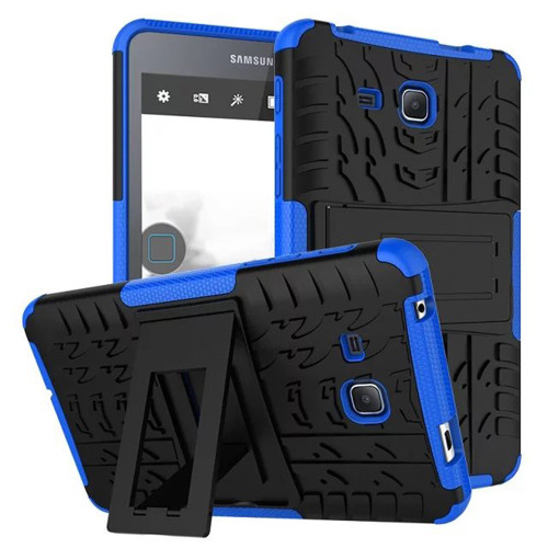 """Blue Shock Proof Kickstand Case For Samsung Galaxy Tab A 7.0"""""""