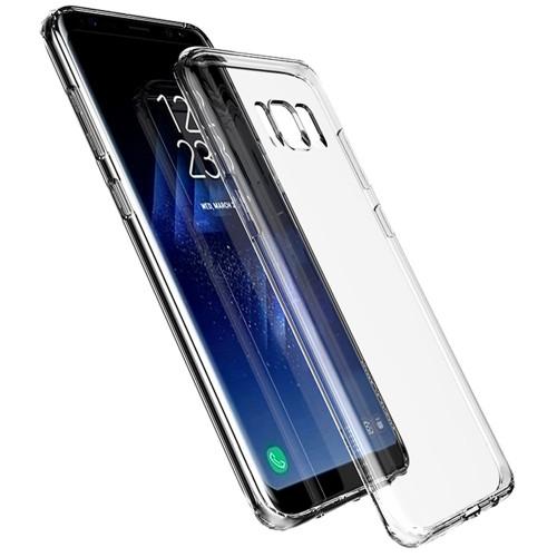 Clear Samsung Galaxy S8 Ultra Slim TPU Gel Case - 1