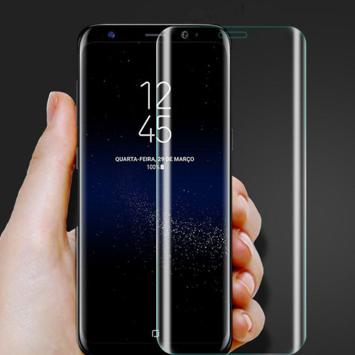 Samsung Galaxy S8 Tempered Curved Glass Screen Protector - 1
